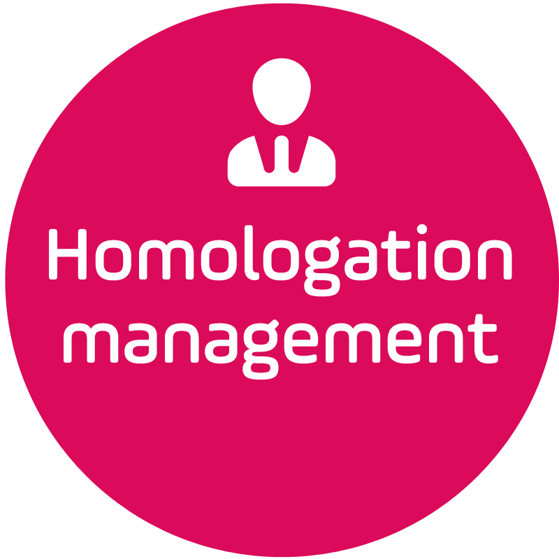 Homologation management