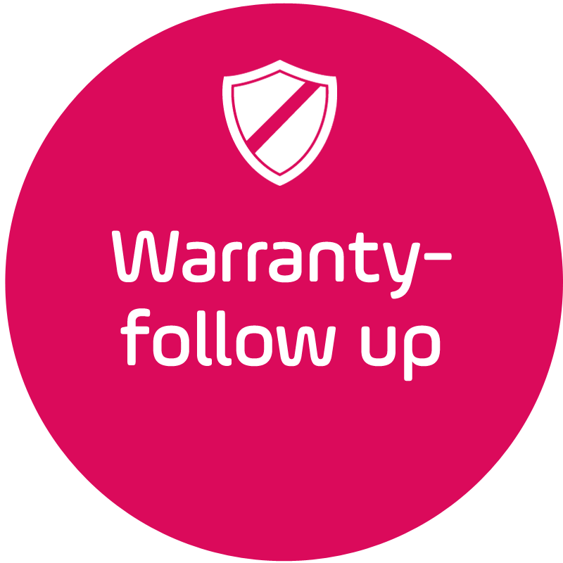 Warranty follow-up